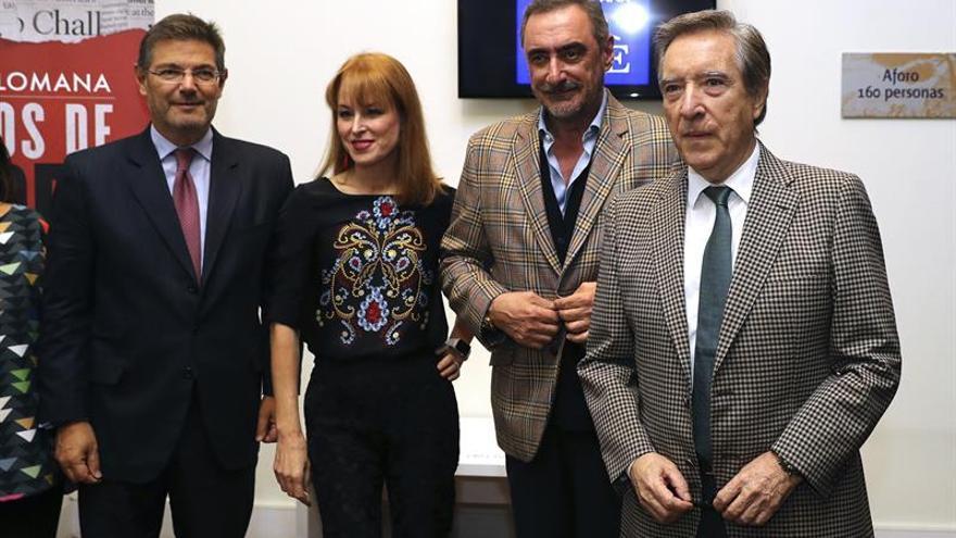 """Herrera y Gabilondo presentan a Lomana en """"Juegos de poder"""""""