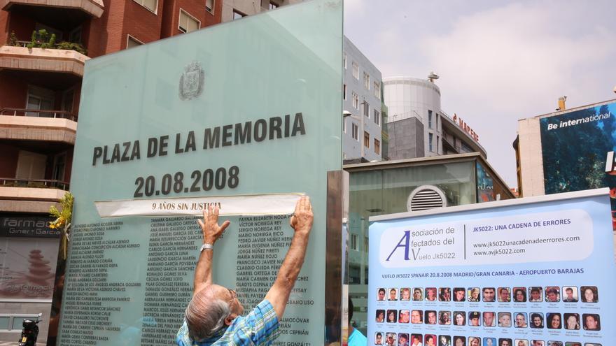 Noveno aniversario del accidente de Spanair