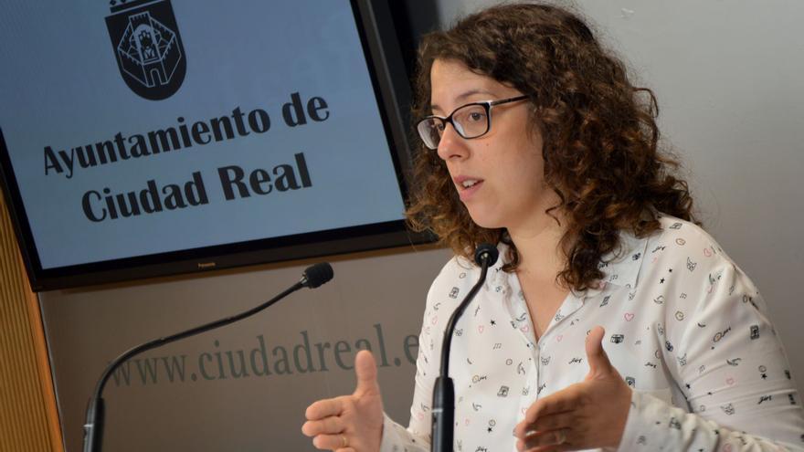 Sara Martínez, portavoz del equipo de Gobierno en Ciudad Real