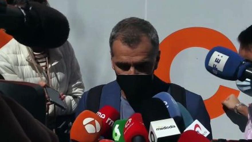 VIDEO: Toni Cantó resigns his deputy act