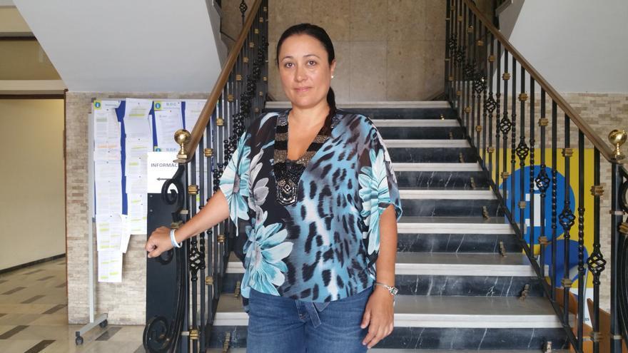 Carmen Brito es consejera de Participación Ciudadana y Emergencias del Cabildo. Foto: LUZ RODRÍGUEZ.