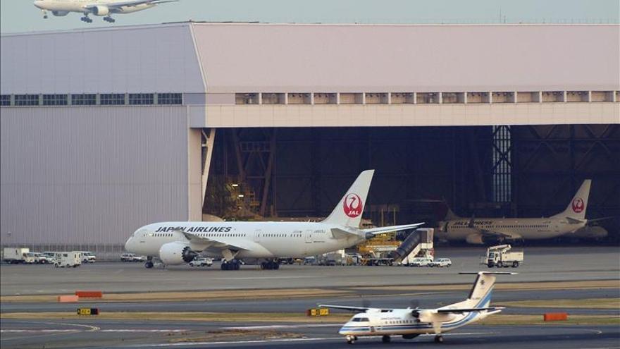 La aerolínea nipona JAL realiza su primer ensayo de vuelo con el Boeing 787