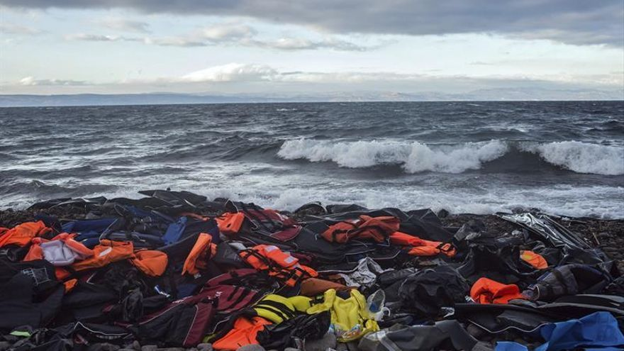 Fallecen 4.636 refugiados en el Mediterráneo en 2016, mil más que el año pasado