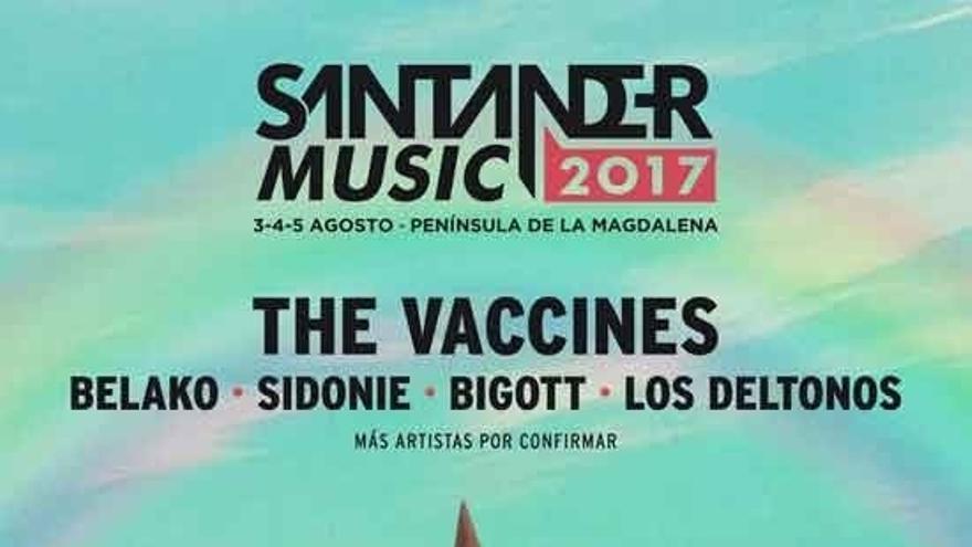 The Vaccines, Sidonie, Los Deltonos, Bigott y Belako, en la novena edición del Santander Music