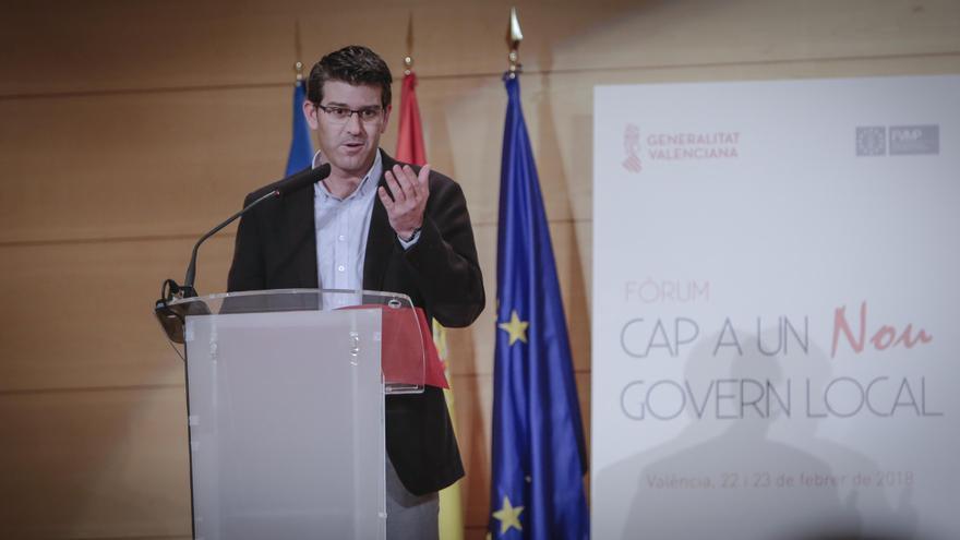 Imagen de la intervención de Jorge Rodríguez en el foro