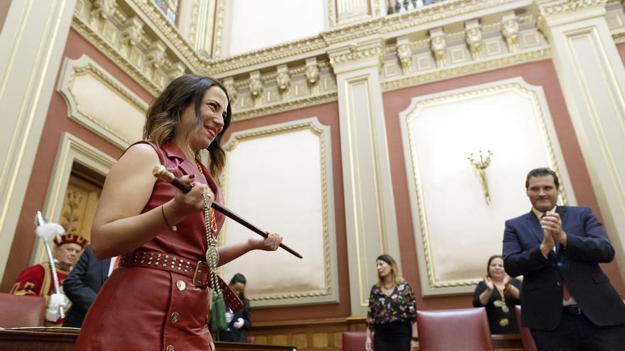 Patricia Hernández (PSOE), nueva alcaldesa de Santa Cruz de Tenerife.