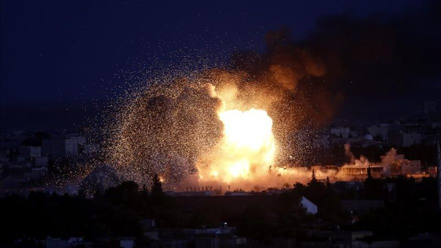 Aumentan a 42 los muertos en un bombardeo ruso en Siria