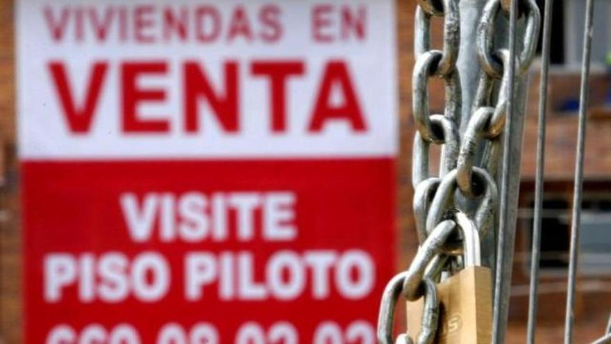 La actividad inmobiliaria se centra en Aragón en las viviendas de segunda mano mientras las nuevas apenas tienen tirón
