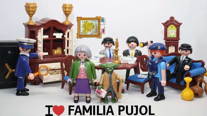 Resultat d'imatges de família pujol