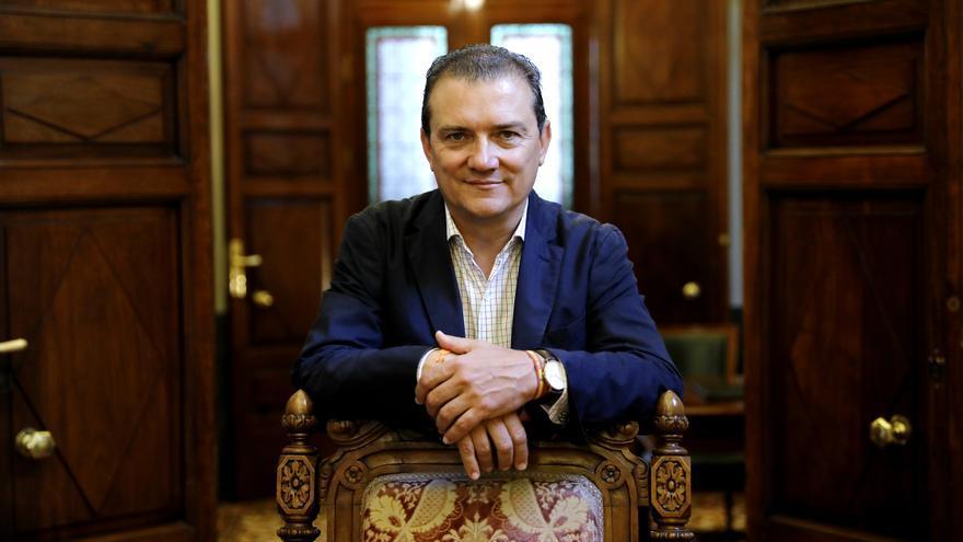 El portavoz de Vivienda de Ciudadanos, Miguel Ángel Garaulet