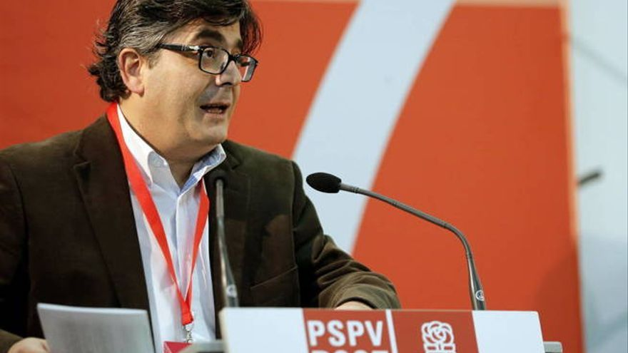 Alfred Boix, secretario de organización de la gestora del PSPV entre 2007 y 2008.