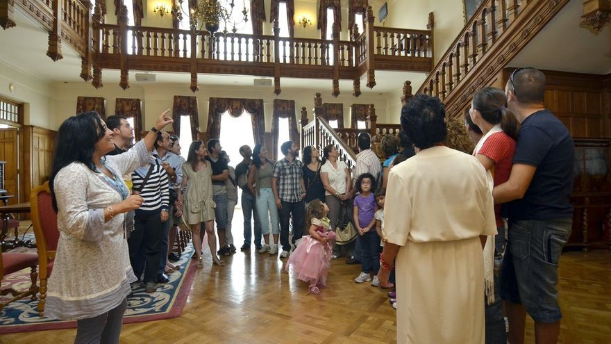 Casi 25.500 personas participaron en visitas y eventos en el Palacio de la Magdalena en el primer semestre