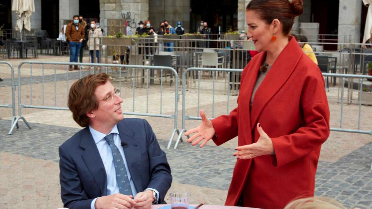 José Luis Martínez-Almeida y Samantha Vallejo-Nágera, en 'MasterChef'