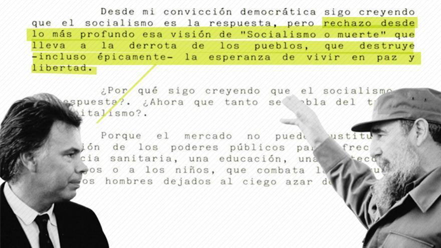 Felipez González/Fidel Castro