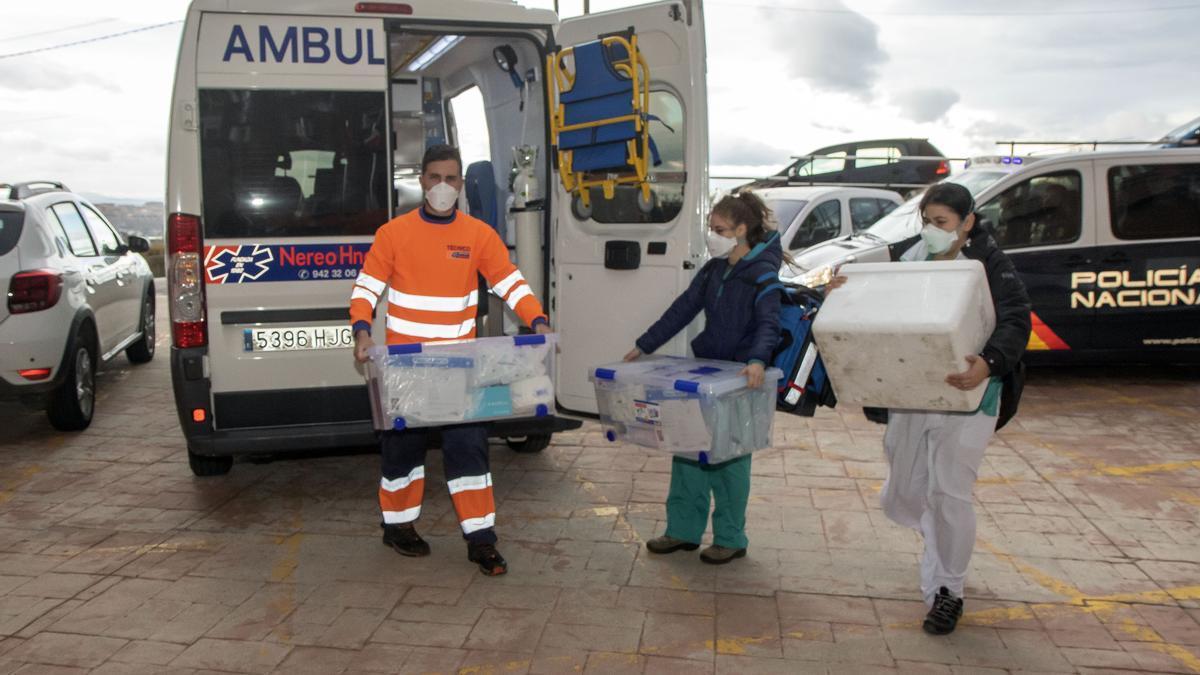 Vacunacion en Cantabria, vacunas