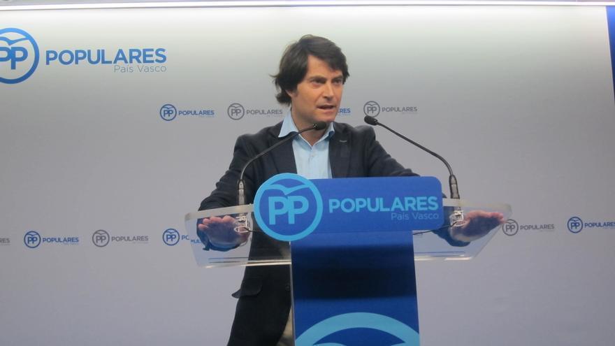 """PP vasco dice que """"no se puede dejar pasar"""" agresiones como la del presidente de Nuevas Generaciones"""