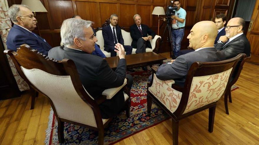 El Círculo de Empresarios de Gran Canaria se reúne con el presidente del Tribunal Superior de Justicia de Canarias, Antonio Doreste.