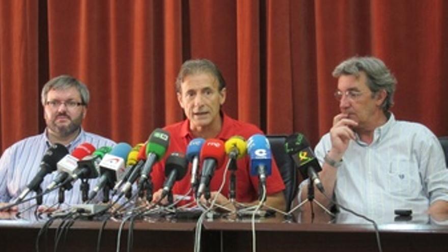 Casco, Escobar y Nogales. (EUROPA PRESS)