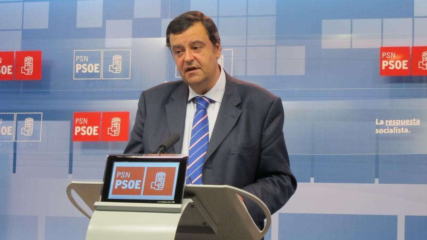 """PSN pide a Barcina que """"se aleje del PP"""" y exija a Rajoy que """"flexibilice"""" el déficit de Navarra para 2013"""