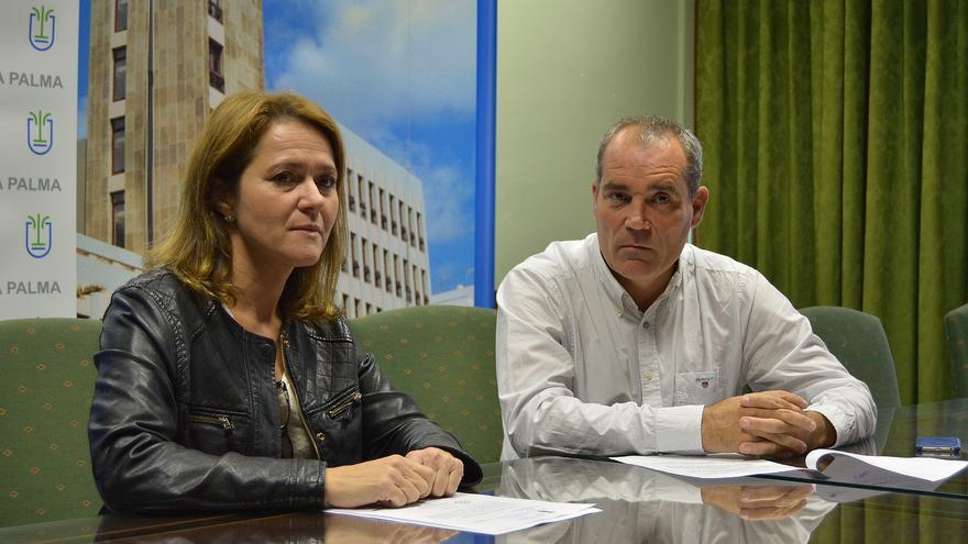 Alicia Vanoostende y Gonzalo Pascual.