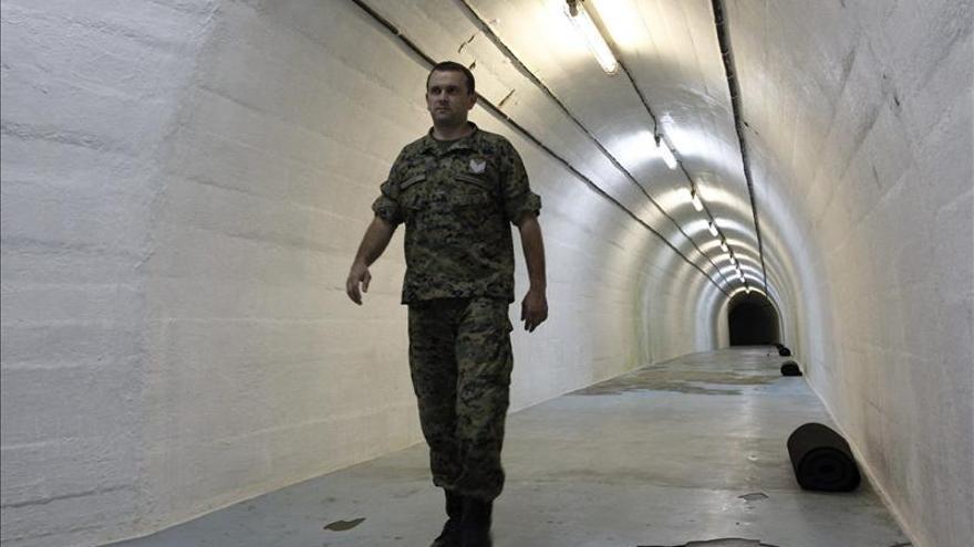 El búnker nuclear de Tito se recicla con una bienal de arte contemporáneo
