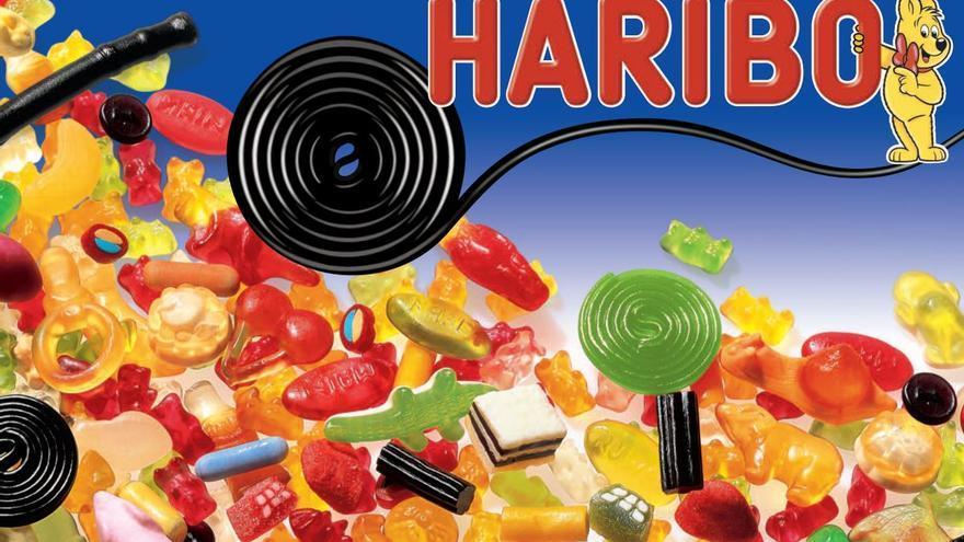 Imagen promocional de productos Haribo.