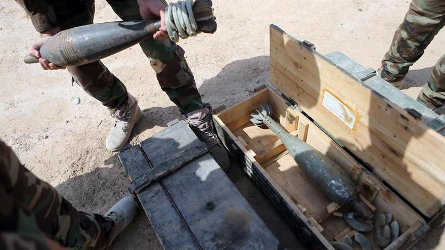 Tropas kurdas lanzan una gran ofensiva contra el EI en localidades de Mosul (Irak)