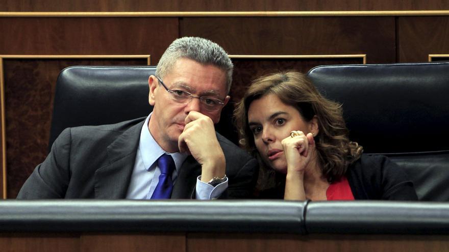 """Gallardón respalda la """"perfecta respuesta"""" del Estado de Derecho al 25S"""