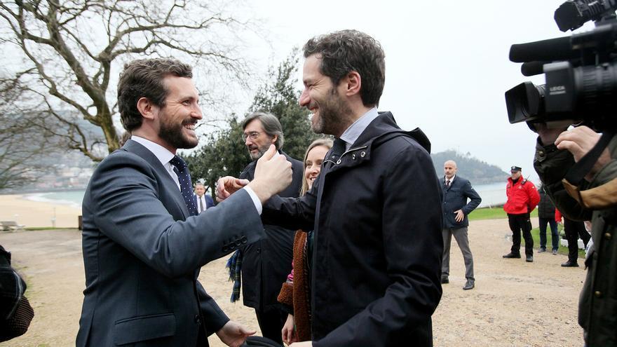 """Casado pide que no se permita a EH Bildu ser """"interlocutor político"""" y al lehendakari que no reclame el acercamiento"""