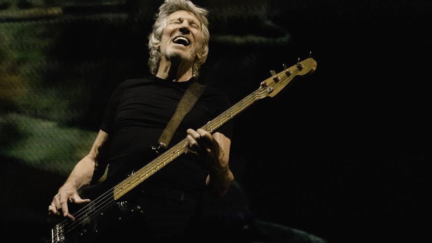 Roger Waters durante 'Us + Them Live', una gira cargada de denuncia política