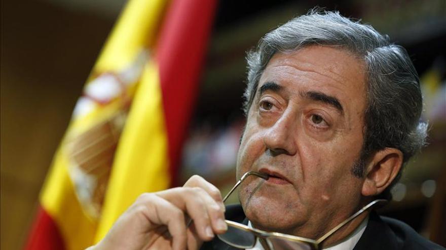 El fiscal jefe de la Audiencia Nacional, Javier Zaragoza