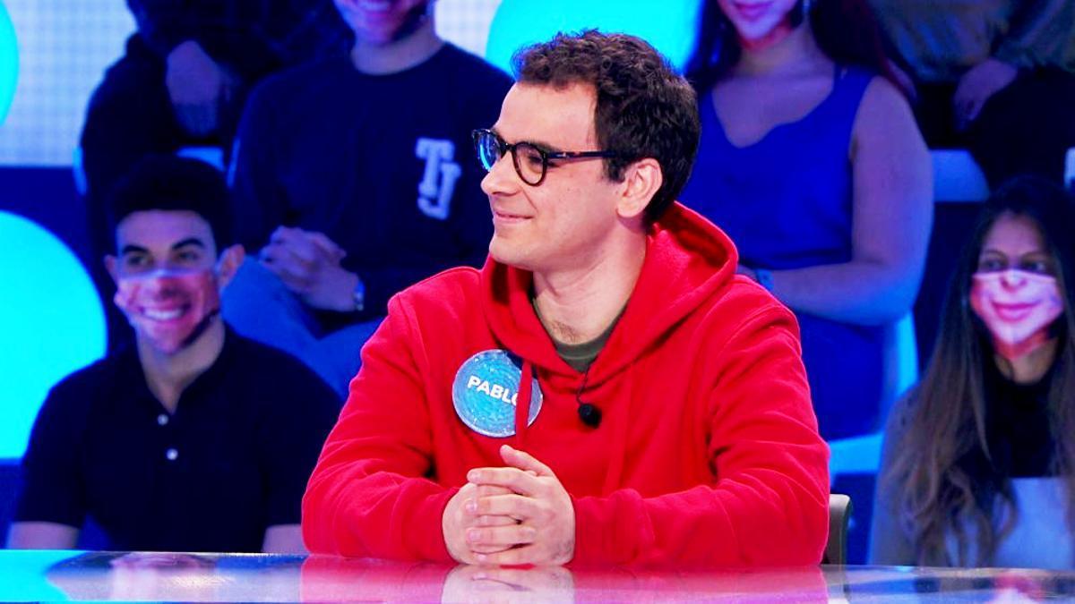Pablo Díaz, en 'Pasapalabra'