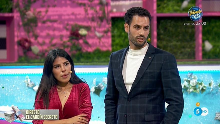 Isa Pantoja y Asraf, nuevos expulsados de 'La casa fuerte'