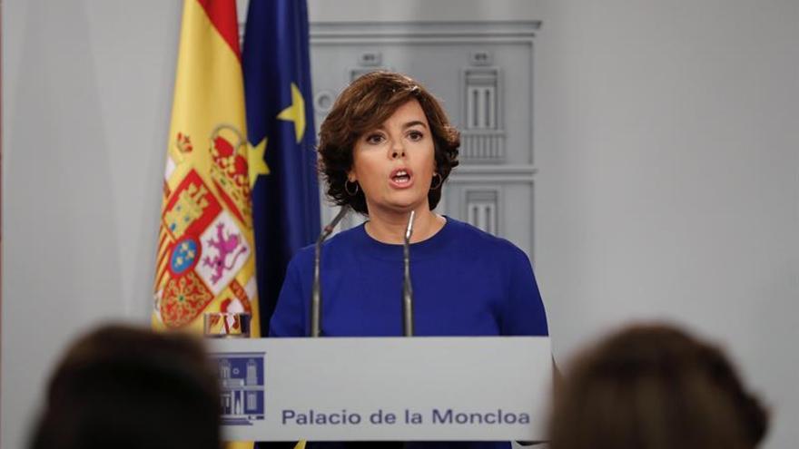 """Santamaría acusa a Junqueras de """"manipular"""" a costa del Tribunal Supremo"""
