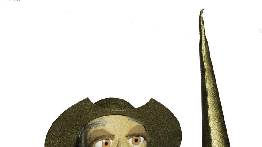 Recreación de don Quijote