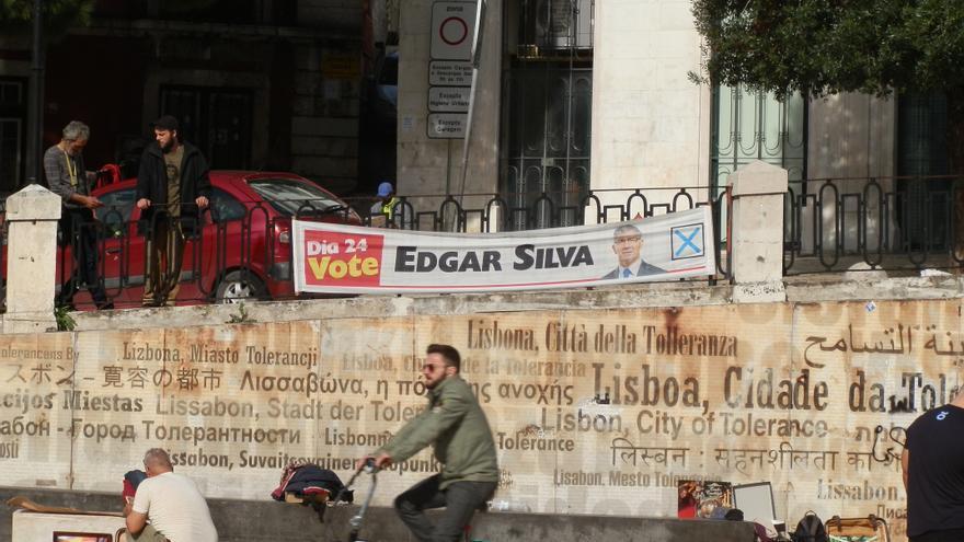 Jornada de reflexión de las elecciones presidenciales en Lisboa