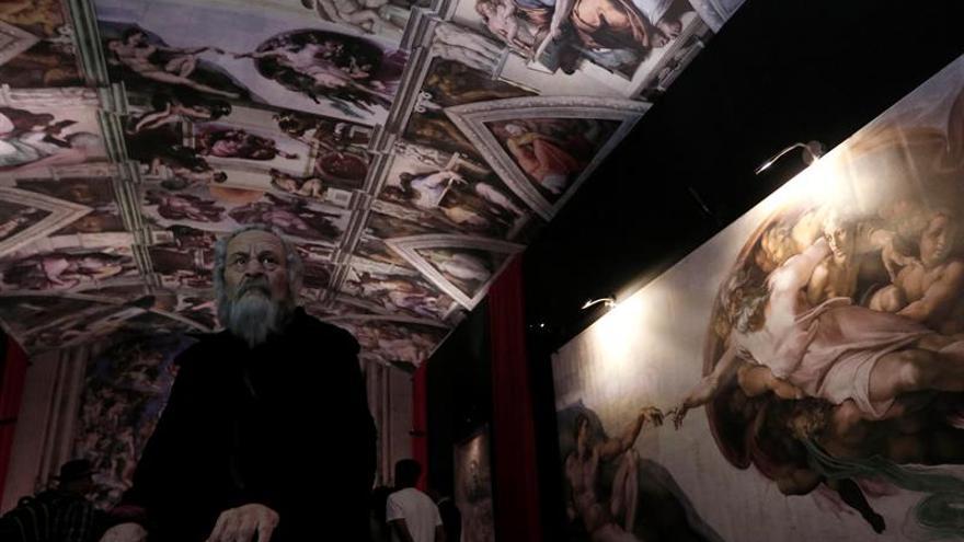 Inauguran en México una exposición con réplicas de esculturas de Miguel Ángel