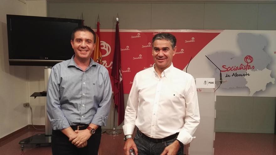 Santiago Cabañero y Manuel González Ramos