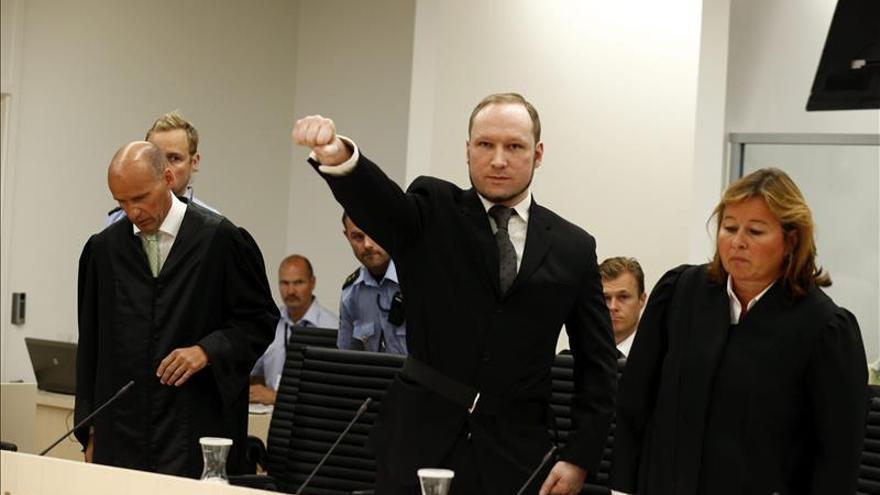 Breivik demandará al Estado noruego por mantenerlo en régimen de aislamiento