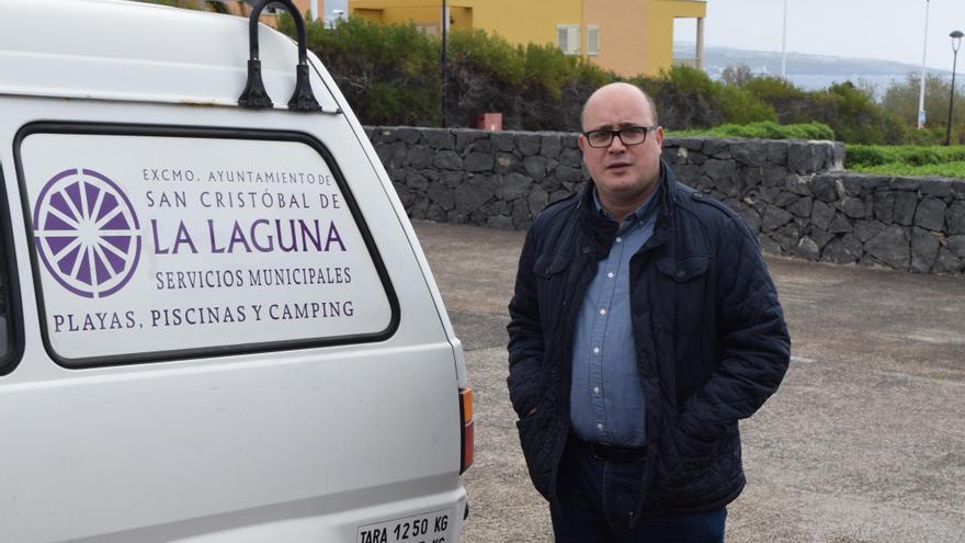 El concejal socialista de La Laguna Zebenzuí González