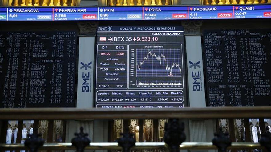 El IBEX 35 sube en la apertura el 0,52 % y recupera los 9.400 puntos