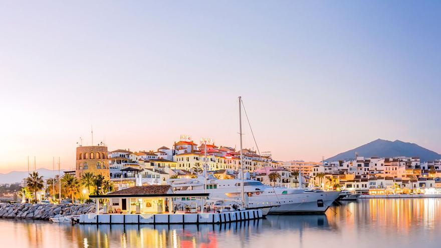 Imagen de Puerto Banús, en Marbella.