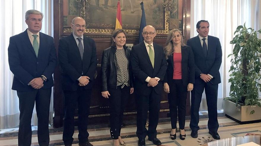 Bonig se ha reunido con Montoro junto con otros dirigentes populares