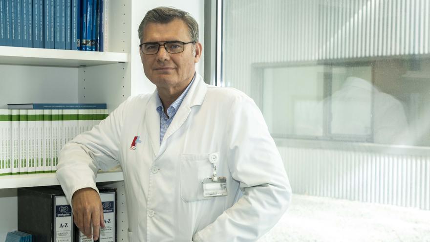 Jesús Artal, jefe de Psiquiatría del Hospital Valdecilla.