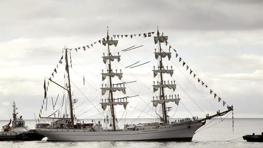 El buque mexicano Cuauhtémoc cruzará bajo el segundo puente de Cádiz
