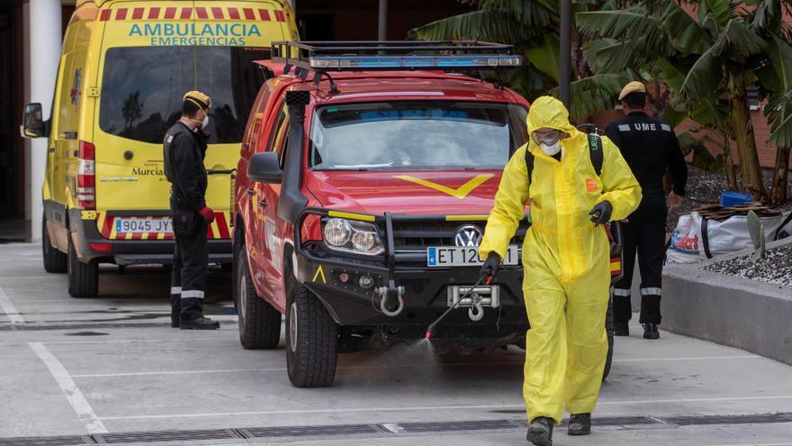 Murcia suma 391 casos positivos y 12 fallecimientos en las últimas 24 horas