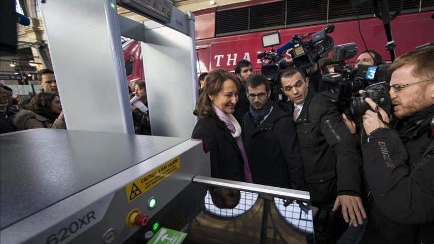 Francia empieza a instalar arcos de seguridad en su red ferroviaria