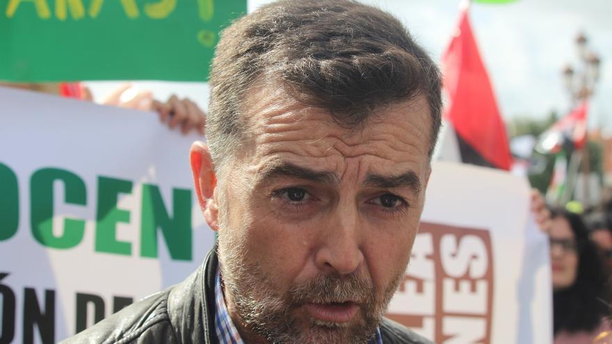 """Maíllo asegura que IULV-CA """"no está en los logos"""" y que en Andalucía hay """"buenas condiciones"""" para confluir con Podemos"""