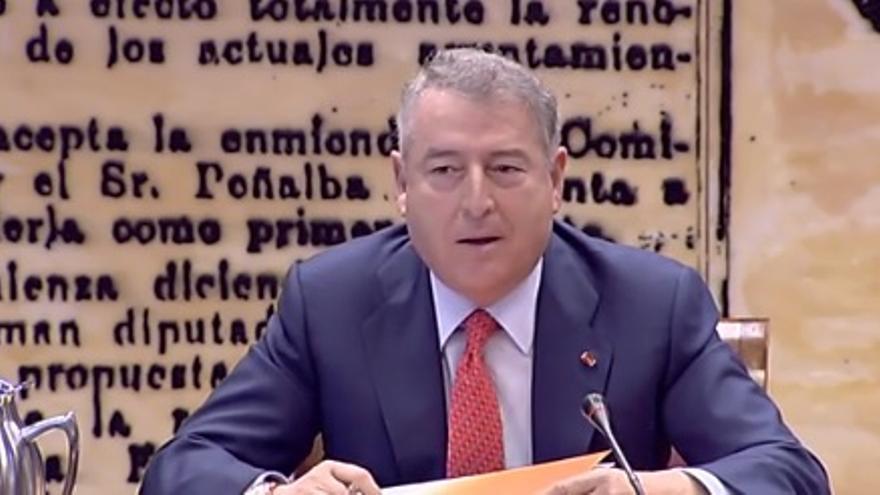 José Antonio Sánchez, en su comparecencia en el Senado