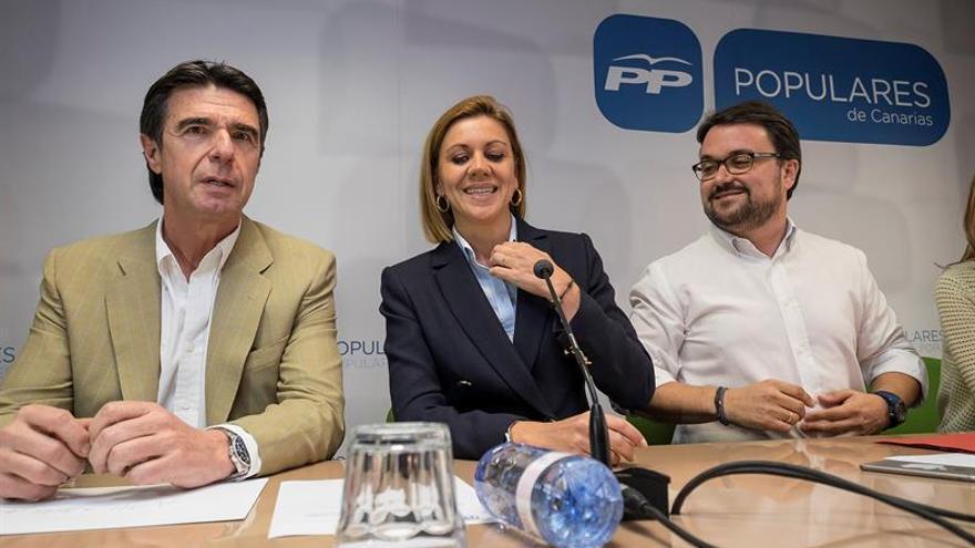 Asier Antona sustituye a José Manuel Soria como presidente del PP canario